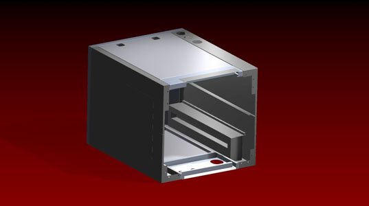 Custom Fabricated Metal Enclosure