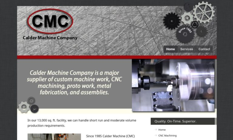 Calder Machining Company, Inc.