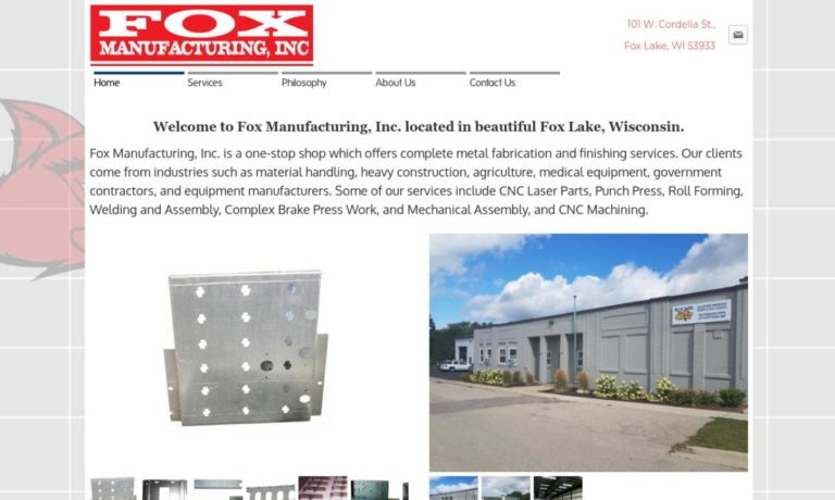 Fox Manufacturing, Inc.