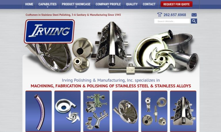 Irving® Polishing & Manufacturing Co., Inc.
