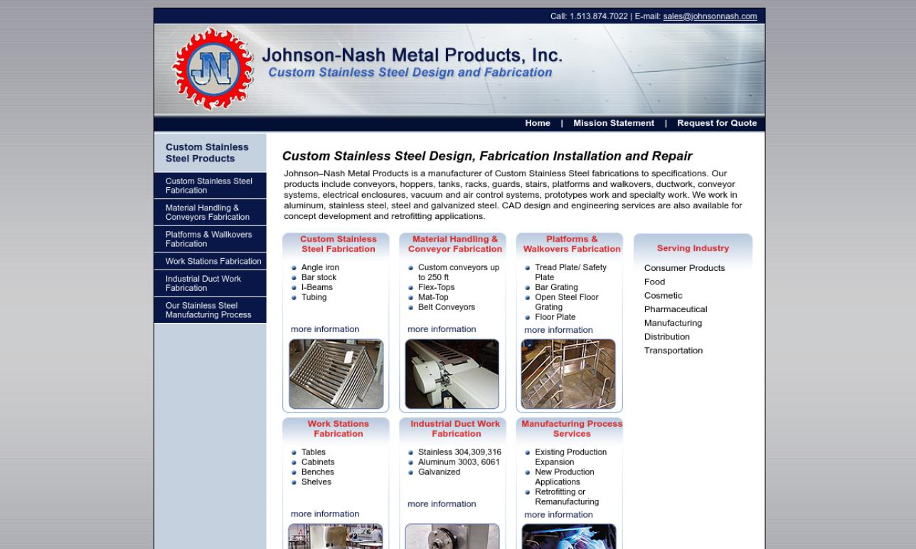Johnson-Nash Metal Products, Inc.