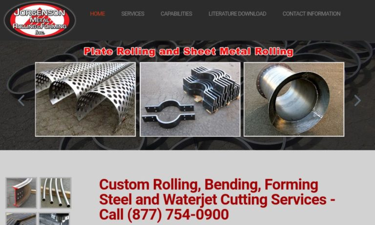 Jorgenson Metal Rolling & Forming Inc.