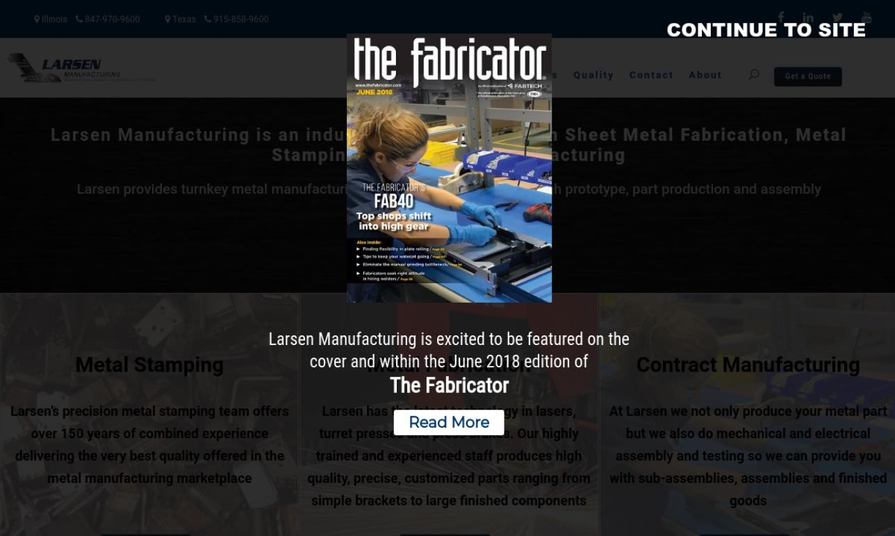 Larsen Manufacturing