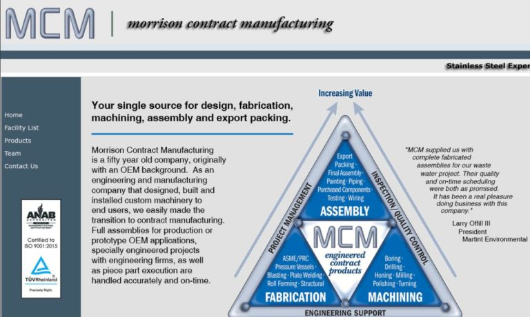 Morrison Contract Manufacturing