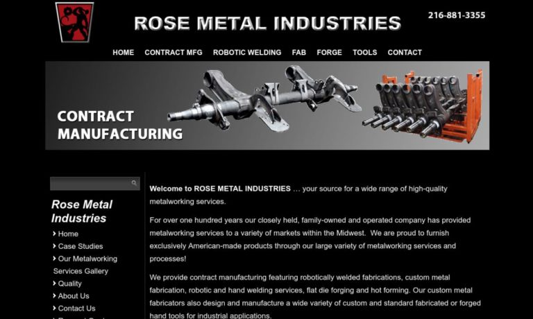 Rose Metal Industries, Inc.