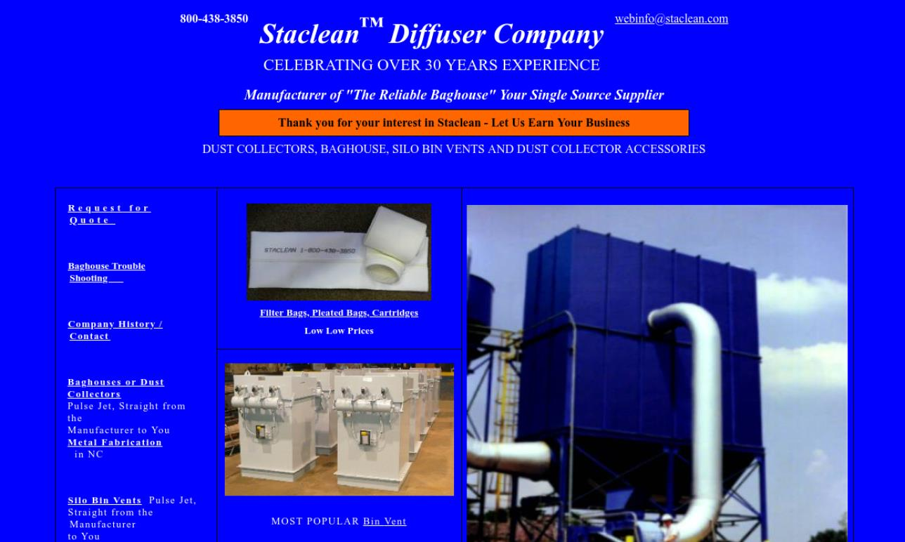 Staclean™ Diffuser Company