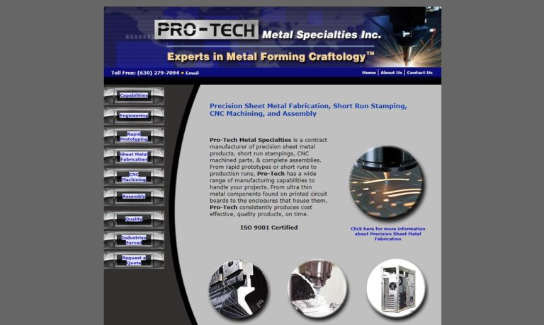 Pro-Tech Metal Specialties, Inc.