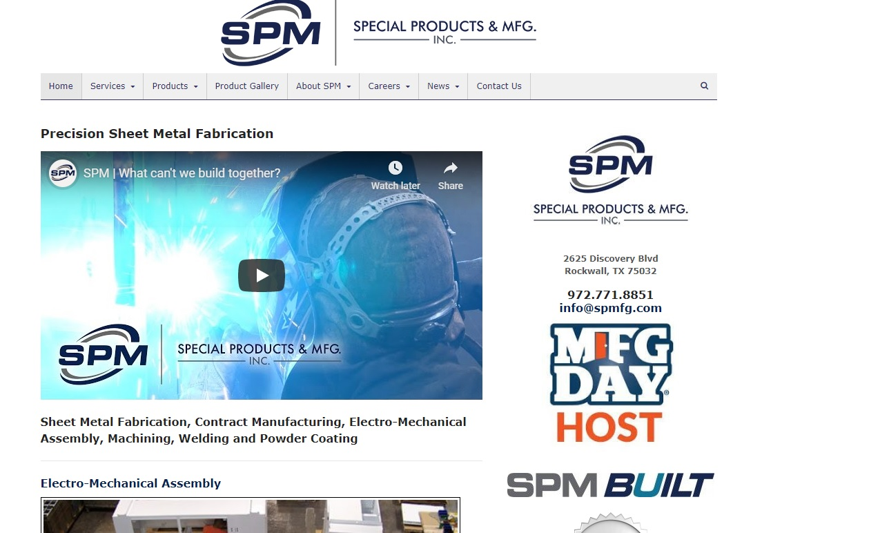 Special Products & Mfg., Inc.