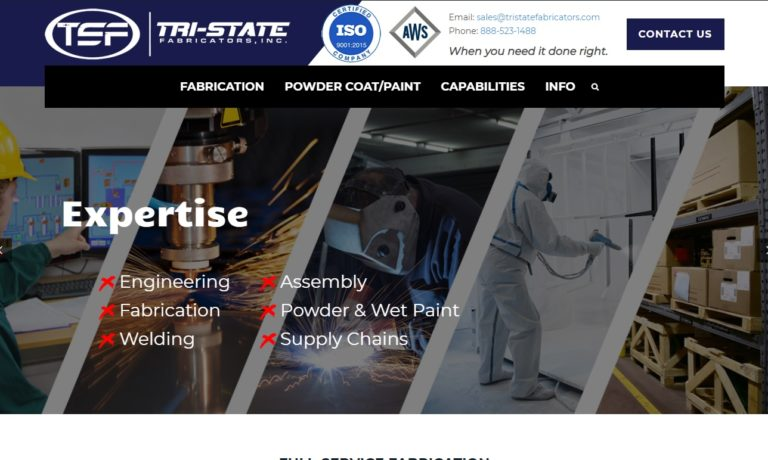 Tri-State Fabricators, Inc.