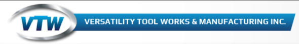 Versatility Tool Works and Manufacturing Company, Inc. Logo
